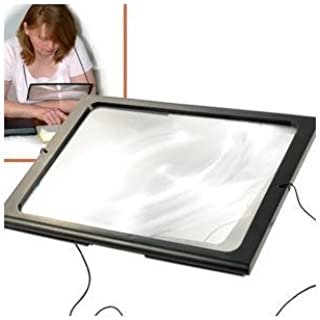 Hands Free Magnifying Glass With Light & Neck Cord LED Illuminated Magnifier For Reading Sewing Crafts Handcraft Hobby New (1)