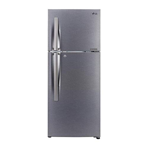 LG 260 L 2 Star Inverter Frost-Free Double-Door Refrigerator (GL-N292RDSY, Multi Air Flow, Dazzle...