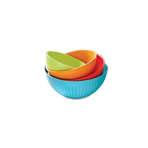 Nordic Ware 4-Piece Mixing Bowl Set
