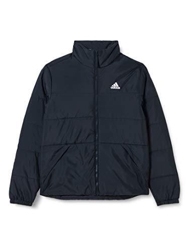 adidas Herren BSC 3S INS JKT Jacke, Negro/Negro, L