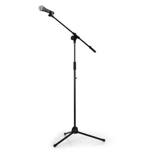 Set micrófono PA y de estudio con trípode y micro dinámico