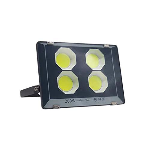 FINDYU Focos LED Exterior DC12-85V Moderno IP66 Impermeable Anticorrosión Seguridad Lámpara Al Aire Libre por Barco Yarda Jardín, Luz Blanca Floodlight (Color : 200W)