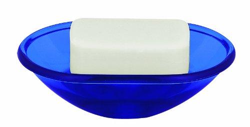 Price comparison product image Spirella Toronto Navy Soap Dish Polystyrol Blue 4 cm x 13.8 cm