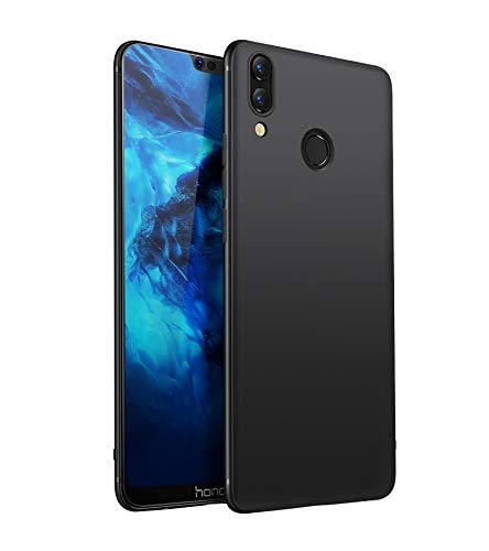 Olliwon Coque Huawei Honor 8X, Ultra Mince Antichoc Silicone TPU Fine Housse Etui Noir Coque Protection Case Cover pour Huawei Honor 8X