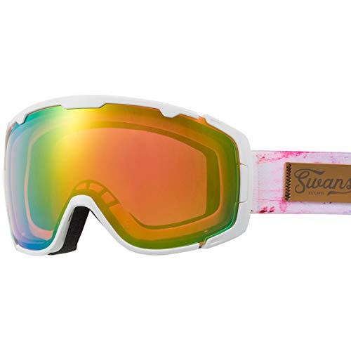 SWANS(スワンズ) スキー スノーボード ゴーグル くもり止め ミラー スキー スノーボード 150-MDHS GLW