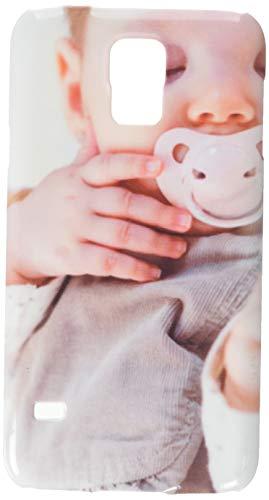 El bebé lindo que duerme sobre cubrecama blanco Funda protectora para móvil Samsung S5
