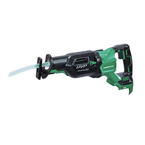 Metabo HPT CR36DAQ4M MultiVolt 36V Brushless 1-1/4 in. Cordless Reciprocating Saw with Orbital Action (Tool Only) (Renewed)