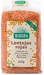 Biográ Lentejas Rojas, 500g