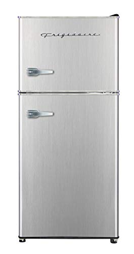 Frigidaire EFR451 2 Door Refrigerator/Freezer, 4.6 cu ft, Platinum Series, Stainless Steel