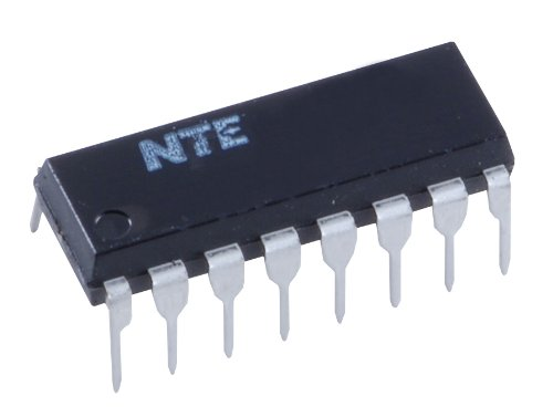 NTE Electronics NTE4008B Integrated Circuit CMOS, 4-Bit Full Adder with Parallel Carry Out, 16-Lead DIP Package, -0.5 to +18.0V VDD
