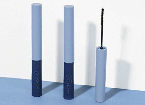 Paquet de 2 cils mascara longue durée exquis imperméable et résistant à la transpiration