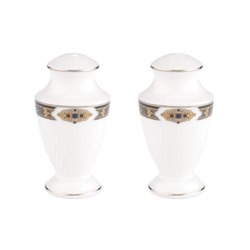 Lenox Vintage Jewel Salt and Pepper Set, White, S&P Shakers - 830416