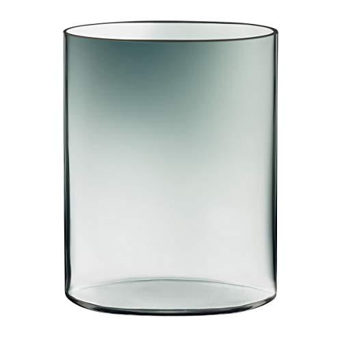 Iittala Ovalis Vase 25 cm, grau/klar, Tapio Wirkkala 1959