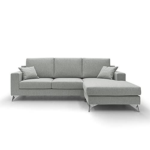 Vertigo - Sofá esquinero reversible de tela impermeable