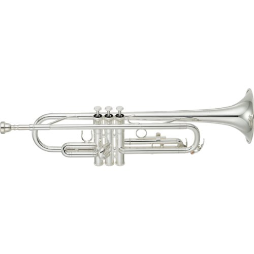 "Yamaha Trumpet Bb YTR 2330S Standard SILVER With ""Semi-Hard case"""