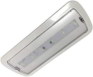 Luz de Emergencia LED empotrable o superficie 3W, 200