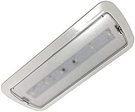(LA) Luz de Emergencia LED empotrable o superficie 3W, 200 lumenes, 3 Horas de Autonomía Blanco Frío 6000K - 200 Lumenes! (1 unidad)