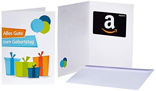 Amazon.de Geschenkkarte in Grußkarte (Geburtstagsgeschenke)