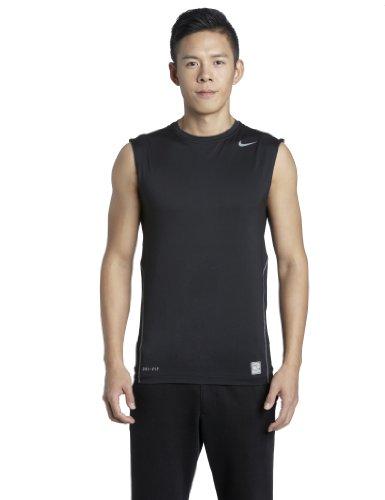 Nike Herren Ärmelloses Shirt Core Compression, Black/cool Grey, XL, 269602-010