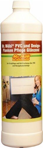 Mr.Möbi® PVC und Design-Planken Pflege Glänzend - 1 Ltr. - Pflegt und Schützt !