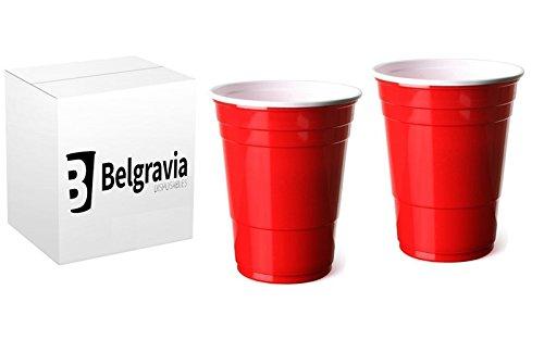 Rot, amerikanische Party-Becher, 455 ml/16 oz, 100 Stück