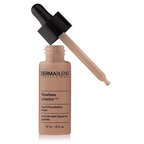 Dermablend Flawless Creator Multi-Use Liquid Foundation Makeup, Full Coverage Foundation, 60N, 1 Fl oz