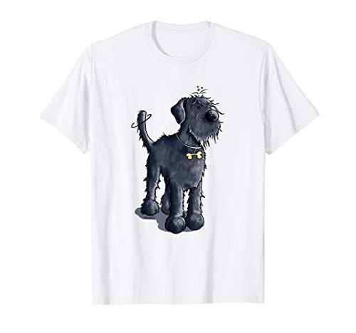 Lustiger Riesenschnauzer Hund T Shirt für Hundefreunde T-Shirt