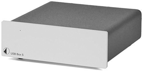 Pro-Ject USB Box S Audiophile Externe Soundkarte Silber