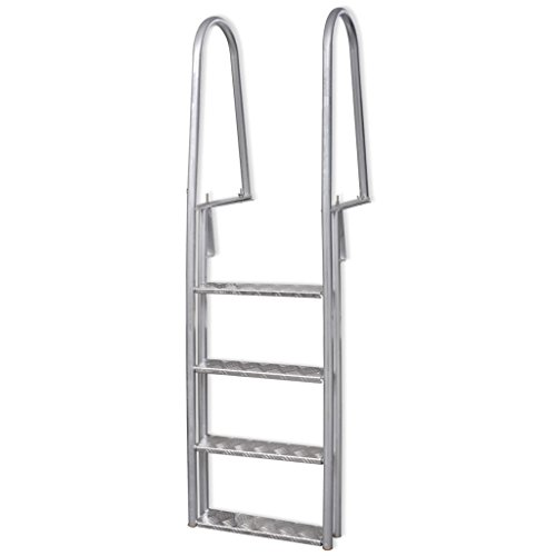 Poolleiter Stufen Aluminium