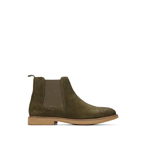 Reaction Kenneth Cole Suede Chelsea Boot - Men's - Olive