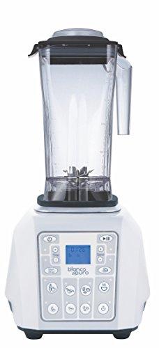 Bianco Forte 2.0 weiß Hochleistungs-Mixer/Standmixer + Stampfer (Smoothie Maker mit 32000 Umdrehungen/min. 1400 Watt)