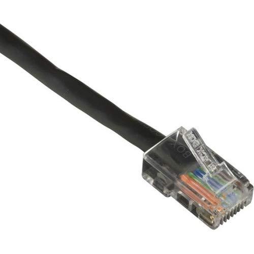 Zwarte doos Cat.6 UTP patchnetwerkkabel - Categorie 6a voor netwerkapparaat - patchkabel - 7 ft - 1 x RJ-45 Mannelijk netwerk - 1 x RJ-45 Mannelijk netwerk - verguld contact - Zwart