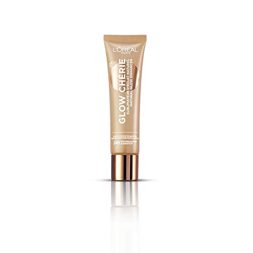 LOréal Paris Glow Chérie, Iluminador Natural, Tono Medio Medium Glow - 30 ml