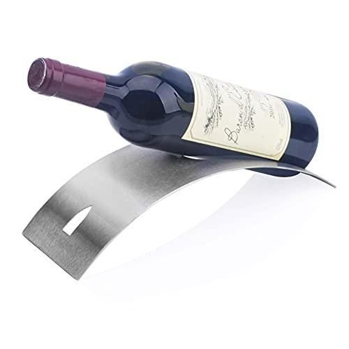 Tipo De Vino Titular De La Botella De Hierro Encimera Almacenamiento Casa SalaEstar Oficina Porche 29X10X6CM HAODAMAI