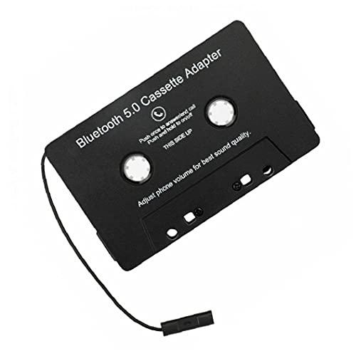 Cinta Adaptador inalámbrico Bluetooth Car Audio Cassette Adaptador de Accesorios del Coche MP3 Digital conversor de Audio para Coches Negro