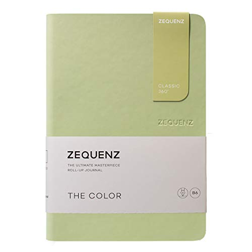 Zequenz Classic 360 The Color B6 Notebook, Dotted, Olive
