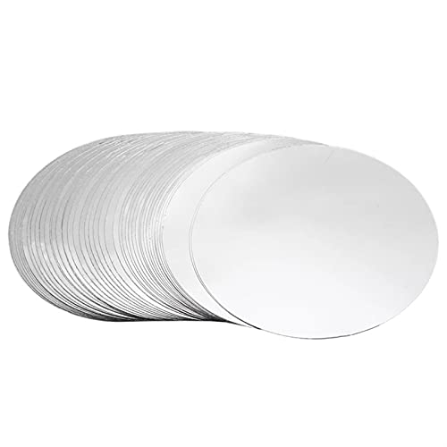CZXKJ 100 unids/Set Vourer Sput Pourter Disk Drop Drop Drip Deja de Verter Bar Party Herramienta de Boda Plata