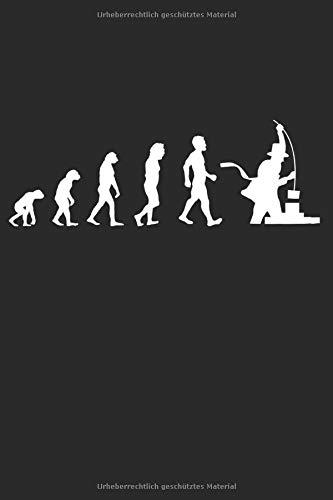 Evolution Kaminkehrer: Handwerker Geschenke für Männer, Frauen & Kinder: Notizbuch DIN A5 I Liniert I 120 Seiten I Geschenkidee Schornsteinfeger Beruf ... Schornstein  Kaminfeger Glücksbringer