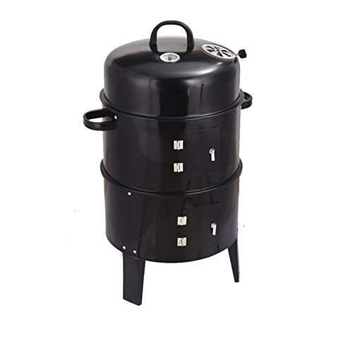Bbq Grill, 3 In 1 Bbq Grill, Houtskool Fornuis Grill Voor 5 Personen, Voor Family Garden Outdoor Cooking Camping Picknicks Barbecue Party