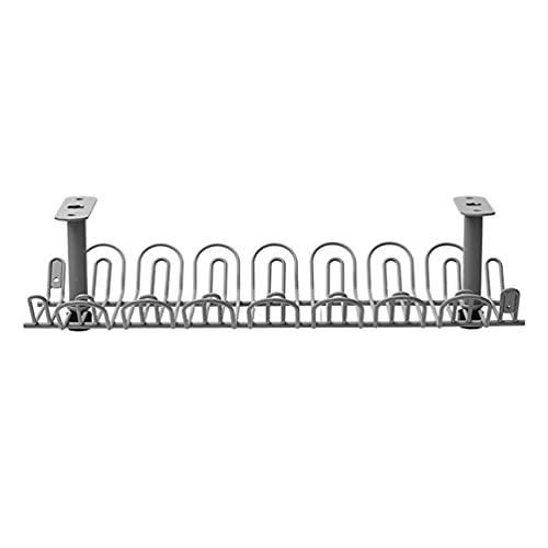 Angoily Soporte de Almacenamiento de Cables Bajo Escritorio Organizador de Cables Compacto...
