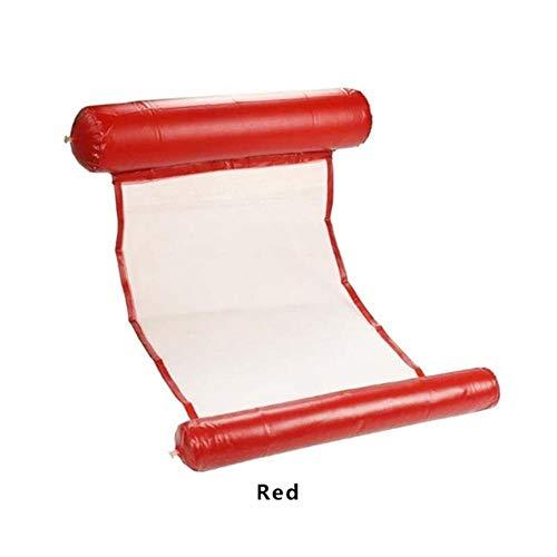 Air Mattress Opvouwbaar Zwembad Water Bed Stoel Opblaasbare Hangmat Drijvend Bed Vrije tijd Kussen Lounge Kussen Water Sport