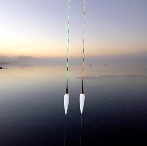 GP-Angelgeräte Elektro-Posen, helle LED Beleuchtung mit Farb-Wechsel zur Bisserkennung 4,8g