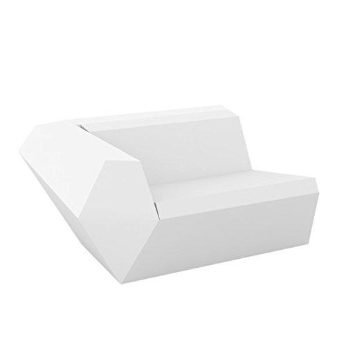 Vondom Faz Sofa Izquierdo Blanc