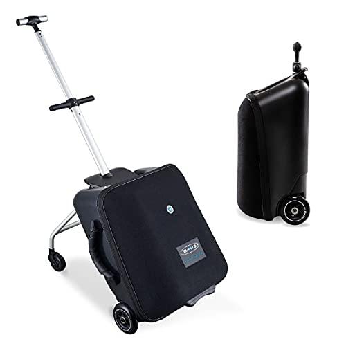 Micro ML0013 - Luggage Eazy, Maleta + Carro, Equipaje de Mano, 3,9kg, 22 litros, Rodamientos ABEC7