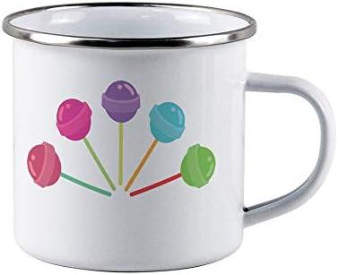All Saints Day Enamel mug Lollipop Candybar Children Halloween Camping Travel Coffee Beer Tin product image