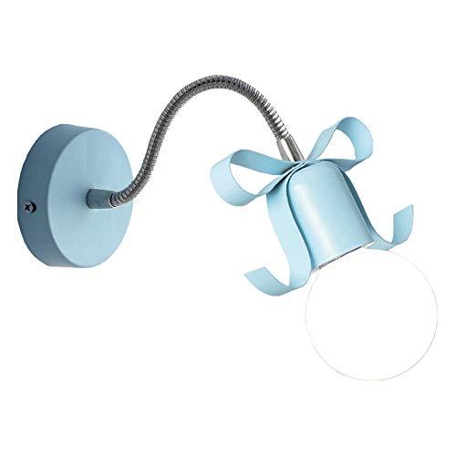 Moderno minimalista Macaron applique lampada da parete, lampada da parete personalità creativa, blu/giallo / grigio/bianco / rosa studio camera da letto comodino soggiorno corridoio parete decorat