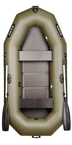 BARK Bateau Gonflable pour 2 Personne B-260 2.6 m 260 cm Bateau de pêche Bateau pneumatique avec...