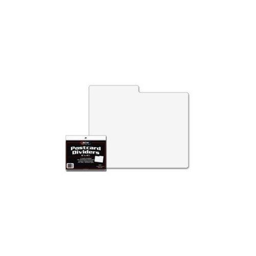 BCW 1-PCD Bcw Postcard Dividers