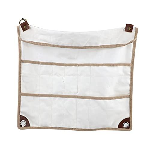 Nobranded Cubiertos de Viaje Juego de Utensilios Bolsa de Almacenamiento Plegable para Senderismo Camping y Picnic al Aire Libre BBQ Cubiertos Organizador de