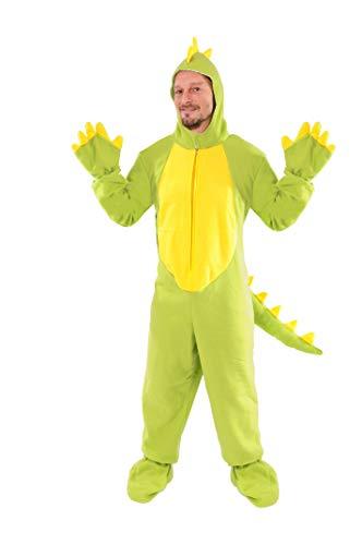 Dinosaurier Einheitsgrösse L - XL Drache Dino Kostüm Fasching Karneval